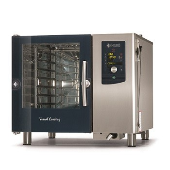 FOUR MIXTE A INJECTION HOUNÖ VISUAL COOKING 6 NIVEAUX 600x400 1.06 B EL