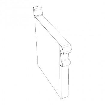 PLAN NEUTRE SUR PLACARD FERME 100x836x780 GAMME CAPIC CELTIC