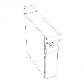 PLAN NEUTRE SUR PLACARD FERME 200x836x900/930 GAMME CELTIC CAPIC
