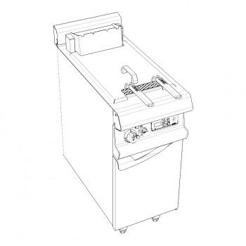 CUISEUR A PATES 30L ELEC RELEVAGE MANUEL SUR PLACARD FERME GAMME CELTIC CAPIC