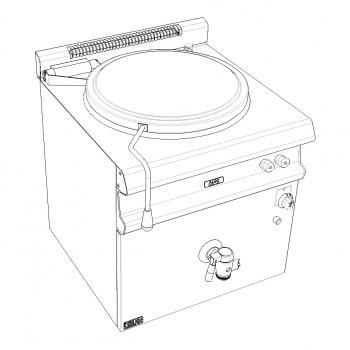 MARMITE 150L GAZ 22kW AVEC ALLUMAGE ELECTRIQUE GAMME CELTIC CAPIC