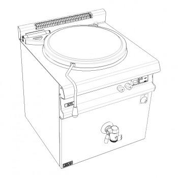 MARMITE 150L GAZ 19.5kW AVEC ALLUMAGE ELECTRIQUE GAMME CELTIC CAPIC