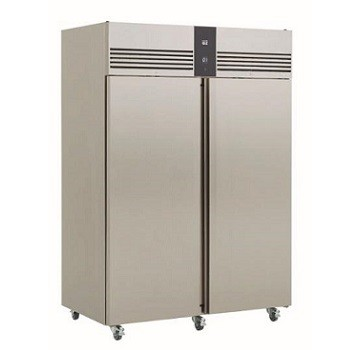 ARMOIRE REFRIGEREE POSITIVE 2 PORTES EXT INT INOX EP1440H FOSTER