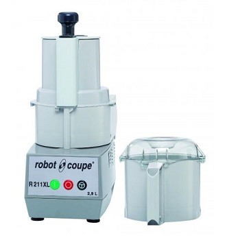 COMBINE CUTTER/COUPE LEGUMES MONOPHASE 230V 2.9L R211XL ROBOT COUPE