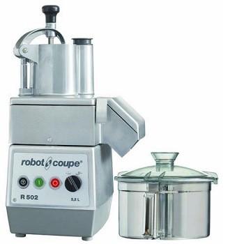 COMBINE CUTTER/COUPE LEGUMES TRIPHASE 400V 5.5L R502 ROBOT COUPE