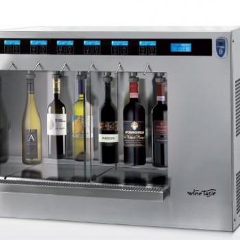 DISTRIBUTEUR DE VINS 3 + 3 KEY WINE TASTE