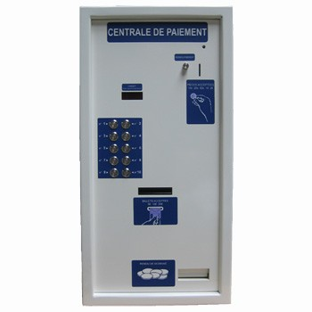 CENTRALE DE PAIEMENT RENDEUR 6 POSTES CLME6 APPLIQUE LM CONTROL