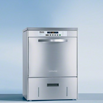 LAVE VERRE MIELE 60 PANIERS/H POSABLE PG8067 DOS INOX